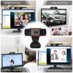 720P Webcam  USB Camera with Microphone For Live Streaming Online Teaching Video Calling, Conferencing, Gaming