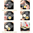 Fried Egg Pan Non-stick Four-hole Omelette Pancake Pot