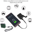 Portable Hand Cranked Power Dynamo Generator Outdoor Emergency USB Charger for Mobile Phone Camera Travel Charger
