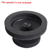 "4pcs Black 6.5"" Car Door Speaker Enhancer Ring Shock Vibration Absorbing Foam Pad Kit Automotive Accessories"