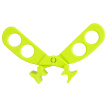 Nuby Nuby Baby Food Scissors Newborn Children Baby Ceramics Beans Green