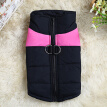 Waterproof Pet Dog Ski Vest Clothes Winter Warm Padded Coat For Small Large Dogs Size XL (Pink)