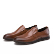 Camel brand men's shoes business dress calf leather comfortable set foot W912043410 tobacco 44/270 yards