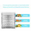 Self-Sealing Food Storage Bag Aluminum Foil Insulated Bags Thermal Cooler Keep Camping Picnic Hot & Cold Pouch