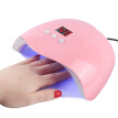 54W Nail Polish Dryer Lamp Led Uv Gel Acrylic Curing Light Manicure Timer New