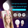 Universal Selfie LED Ring Flash Light Portable Mobile Phone 36 LEDS Selfie Lamp Luminous Ring Clip For IPhone Samsung Xiaomi