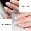 Nail Manicure Edge Trimmer Easy French Smile Line Cutter Tool French Tip Cutter