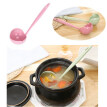 2 in 1 Filter Colander Hot Pot Porridge Soup Long Handle Big Spoon Kitchen Tool