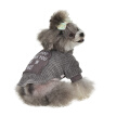 ZL-S-2XL Pet Hoodie Fall Winter Warm Dogs Coat Pure Cotton Thickening Warm Chihuahua Dog Clothing Pet Cashmere Coats