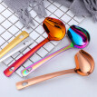 Stainless Steel Duck Mouth Oil Spoon Hanging Hot Pot Soup Ladle Scoop Tableware