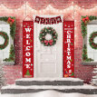 Welcome Banner Christmas Decor For Home Merry Christmas Door Decor 2020 Xmas Ornament Happy New Year 2021 Navidad Decoration Set