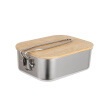 MEGAWHEELS 304 Stainless Steel Lunch Box with Dual Use Lid Bento Box