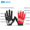 INBIKE Cycling Gloves Touch Screen GEL Bike Gloves Sport Shockproof MTB Road Full Finger Reflective Bicycle Glove For Men Woman
