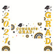 Background Large Fabric Banner for Graduation Party Durable Poster Decor