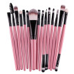 New Useful 15 pcs/Sets Lip Eyebrow Brush Kits Tools Eye Shadow Cosmetic Makeup Brushes Sets