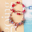 New Valentine's Day Jewelry Ladie Gift Crystal Beaded Bracelet Diy Blind Box Set