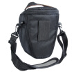 Black Nylon Camera Waterproof Bag Case For Sony For Canon For Nikon D5200 D5100 D5000 D3100 With Shoulder Strap 5035