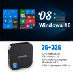 W8 Mini PC Windows 10 Computer Desktop,Intel Atom Z8350 Quad Core,WiFi 2.4Ghz,Bluetooth 4.0,4K,USB3.0
