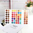 63 Colors Eyeshadow Palette Pigmented Matte Shimmer Make Up Eyeshadow Palette Pigmented