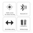 MEGAWHEELS Wireless Bluetooth Gamepad Stretchable Mobile Phones Gaming Joystick Controller for IOS Smart Phones Android