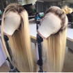T1b/613 Blonde Ombre Lace Wig Brazilian Human Hair Lace Front Wigs Glueless Full lace Human Hair Wig with Baby Hair