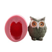 1Pcs Funny Animal Plant Flowerpot Cement Vase Cake Chocolate Mold DIY Handmade Soap Sugarcraft Fondant Baking Decor