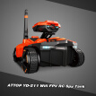 ATTOP YD-211 Wifi FPV 0.3MP Camera App Remote Control Spy Tank RC Toy Phone Controlled Robot