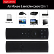 2.4GHz Fly Air Mouse Wireless Remote Control 6-axis Motion Sensing IR Learning with USB Receiver Adapter for Smart TV Android TV B