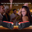 Travel Inspira Wireless Bluetooth Speakers V4.2 Waterproof IPX6 with Enhanced Bass HD Sound, Dual-Channel Stereo Pairing