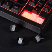 87 Keys LED Backlit Gaming USB Keyboard, Wired Quite Membrane Keyboard Compatible PC/Laptop/Desktop/Computer