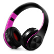 Wireless Bluetooth Headphones Stereo Bluetooth 4.0 Headsets MP3 Player TF Card FM Radio 3.5mm Wired Earphone Hands-free w/ Mic Pur