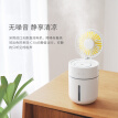 Chinese Valentine's Day gift small fan humidifier mini to send girlfriend birthday gift humidification fan classmate girl wife girlfriends creative practical white