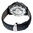 Seagull watch giant master series automatic mechanical men's watch hollow calendar potential energy belt flywheel watch 219.327 white plate black circle black belt