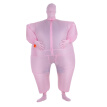 Decdeal Funny Adult Size Inflatable Full Body Costume Suit Air Fan Operated Blow Up Fancy Dress Halloween Sports Party Fat Inflata