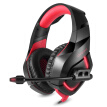 ONIKUMA K1 PC Gaming Headset 3.5mm Stereo USB LED Headphones with Microphone Volume Control Red for PS4 New XBOX ONE Computer PC