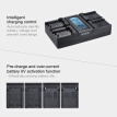 Andoer NP-FZ100 4-Channel LCD Digital Camera Battery Charger for Sony A7III A9 A7RIII A7SIII