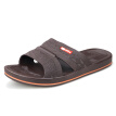Warrior home leisure bathroom outdoor beach sandals and slippers male 3522 brown 41