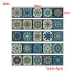 Baroque Style Tile Stickers Vintage Wallpaper Wall Stickers Home Living Room Bedroom Kitchen Decoration Stickers