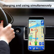 10W QI Wireless Fast Charger Car Mount Holder Stand Phone Charging
