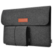 "dodocool 13.3-Inch Felt Sleeve Cover Carrying Case Protective Bag 4 Compartments with Mouse Pouch for Apple 13"" MacBook Air / 13"""