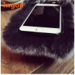 Luxury Cute Panda Rabbit Fur Cover Case for Samsung A310 A3 2016