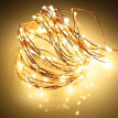 100 LED Copper Wire String Light USB Powered Fairy String Light Waterproof for Garden Outdoor Party Christmas Decor