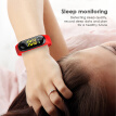 M3 Smart Bracelet Sleep Monitoring Heart Rate Blood Pressure Pulse Wristband OLED Fitness Tracker Smart Watch