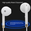 3.5mm Line Control Earphone with mic High-quality Sound Earphone for Smart Phones PC Laptop Tablet 3.5mm Devices Headphone