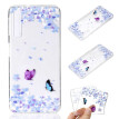 Phone Case For Samsung Galaxy A7 2018 A9 2018 A6 A8 Plus A3 A5 A7 2017 Simple Ultrathin Butterfly Pattern Soft TPU Case Back Cover