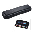 Pen Pencil PPT Pointer Holder Makeup Brush Bag EVA Hard Shell Case Stationery Pouch Box Black