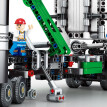 Technology Series Mark Container Truck Building Blocks Compatible with Lego Adult DIY Micro Particle Inserts