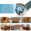 Hexagonal Blade Power Wood Carving Tool Angle Grinder Accessory for 16mm Aperture Angle Grinder