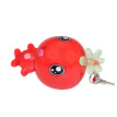 Personal Anti-wolf Device Travel Necessary Children/Women/The Elderly Personal Alarm Cute Design,Red