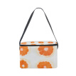 Lunch Box Insulated Lunch Bag Large Cooler Orange Pattern Tote Bagfor Kids, Men, Women